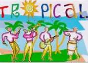 Combo tropical grupo musical retro