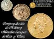 Numislibros compra monedas de oro plata colección. joyas activos