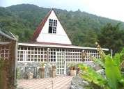 Bello chalet + cabaña en venta. la capea.  2840 mts2