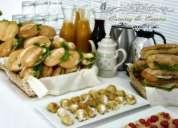 Servicio de  mesoneros catering coffe breck  refrigerios