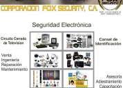 Instalacion, reparacion y mantenimiento de sistemas de seguridad, camaras de cctv