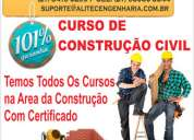 cursos profissionalizantes da construção civil passo a passo