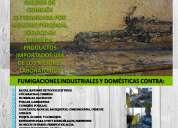 Fumigaciones biodegradables trabajamos en maracaibo