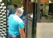 Reparacion puertas de vidrio caracas frenos gatos 02123136778