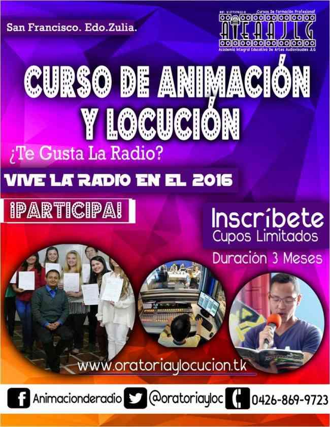 Curso de Locución en Maracaibo 2017