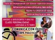 Terapias de lenguaje en maracaibo 2017