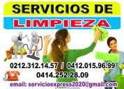 Señora para limpieza en caracas 0212.312.14.57 / 0412.015.96.99 .............