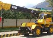 Alquiler de gruas telescopicas, maquinarias para la construccion y montacargas