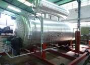 Tapas y/o cabezales para tanques de almacenamientos autoclaves entre otros