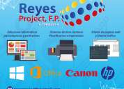 Reyes project, f.p.