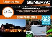 Generador eléctrico generac venezuela repuestos técnicos