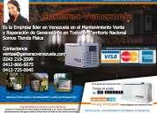 Plantas eléctricas generac venezuela instalación distribución técnicos