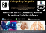 Fabricación de zapatos plantillas ortopédicas