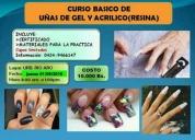 Excelente cursos de uñas en gel y resina