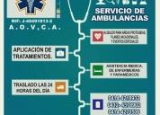 ambulancias sismed24,contactarse.