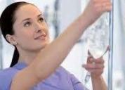Enfermera profesional ofrece servicios a domicilio, contactarse.