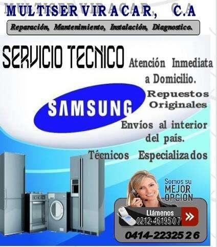 Servicio Tecnico Autorizado Samsung, Contactarse.