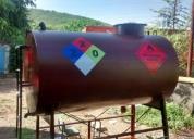 Excelente tanque de combustible plantas electricas