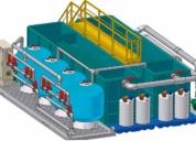 Se realizan diseños y mejoramientos de planta de tratamiento de agua