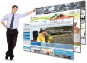 Páginas web, tiendas virtuales.