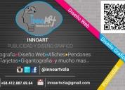 Publicidad y diseño grafico, diseño web afiches, pendones.