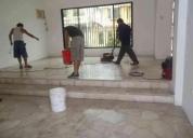 Oportunidad! limpiezas de pisos