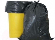 Bolsa p/basura tipo b 40 kg extra fuerte