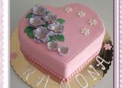 Tortas y gelatinas decoradas. contactarse.