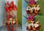 Oportunidad! arreglos frutales y ramos florales. vallechic
