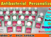 Botellitas personalizadas con gel antibacterial, consultar precio!.