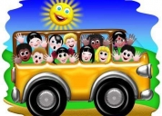 transporte escolar caracas zonas desde terrazas