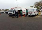 Servicio de ambulancia para traslado y eventos
