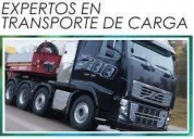 transporte de carga .