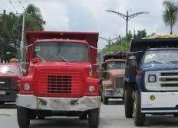 Alquiler de camiones para carga pesada.
