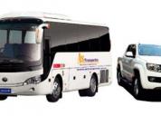 Empresa de transporte solicita vehículos de todo tipo. contactarse.