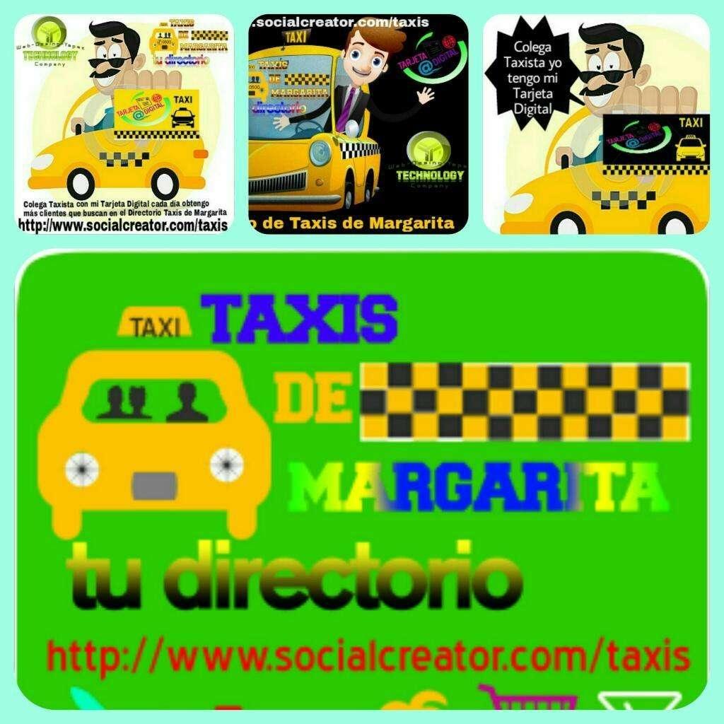 Servicio de Taxis en La Isla de Margarita, Contactarse.