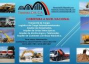 Excelente camiones con brazo hidráulico a nivel nacional