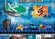 Mantenimiento y reparacion de computadoras, laptops, minilaptops, i