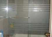 ventas puertas de baño con o sin dibujos de vidrio templado. contactarse.