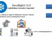 Servirefri c.g.s servicios en general. contactarse.