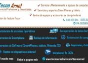 Servicio y mantenimiento a equipos de computacion