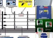 Instalación y reparación de cercos eléctricos, contactarse.