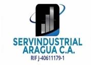 Servindustrial aragua c.a / ofrecemos los siguentes servicios, contactarse.