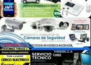 Ventas e instalación de sistemas de seguridad electrónica, contactarse.