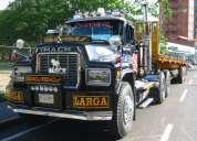 Alquiler de gandolas para traslados de cargas pesadas