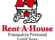Asesor inmobiliaria franquicia rent-a-house servicios