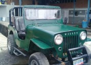 Se vende excelente jeep willys año 57