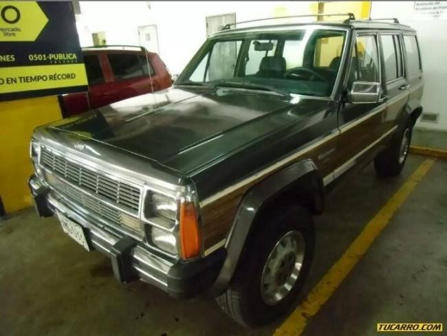Excelente wagoneer limite 4x4 1989