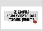 Se alquila excelente apartamentos solo empresa
