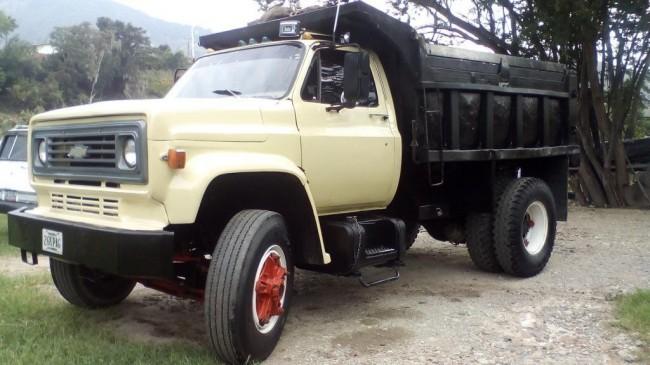 Excelente Camión Volteo Chevrolet C60 IMPECABLE